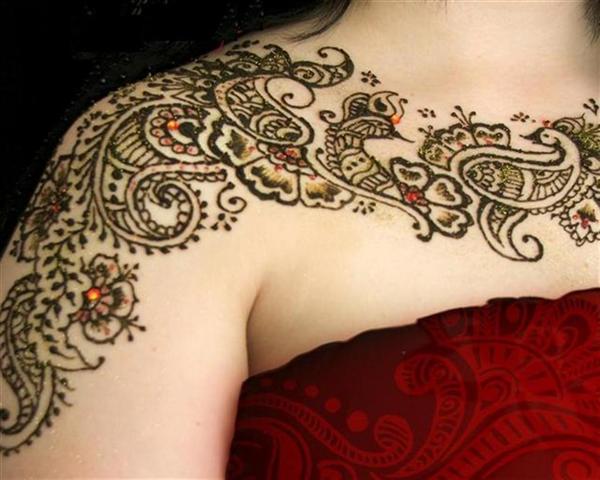 Body Henna mehndi designs
