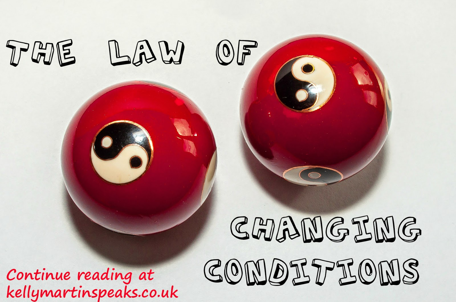 Law of Changing Conditions YIN YANG