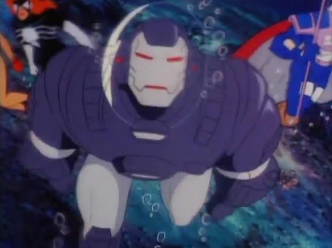 Il cartone animato di iron man incredibilmente zozzo e
