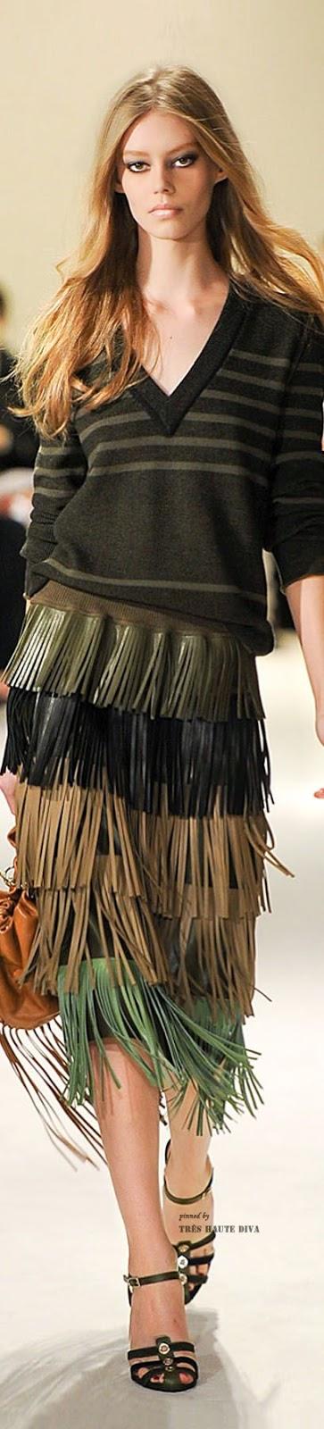 Tendências moda primavera-verão 2015 franjas