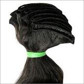 cabelo tecido pronto p/tic tac
