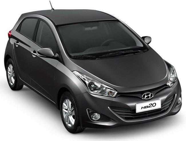 novo Hyundai HB20 2014 lateral