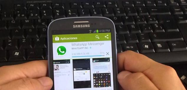 Distribuyen un malware en WhatsApp que afecta a dispositivos Samsung