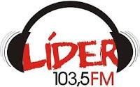 ouvir a Rádio Líder FM 103,5 Ubá MG