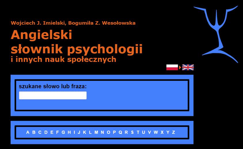 Angielski Słownik Psychologii