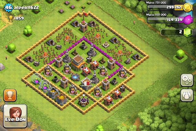 Etiketler: Clash of Clans 8. Seviye , ClaSh Of Clans 8.Seviye Köy