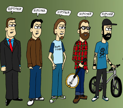 """a definition of the term hipster The end of the hipster: how flat caps and beards stopped  dictionary defines hipsters as """"a  that hipster has morphed into a negative term,."""