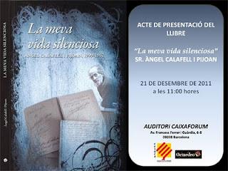"""Presentacion del libro """"Mi Vida Silenciosa"""" 21/12/11 en Barna Presentacion_librocalafell11"""