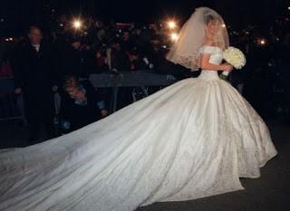 fotos e imagens de Vestidos de Casamento de famosas e celebridades