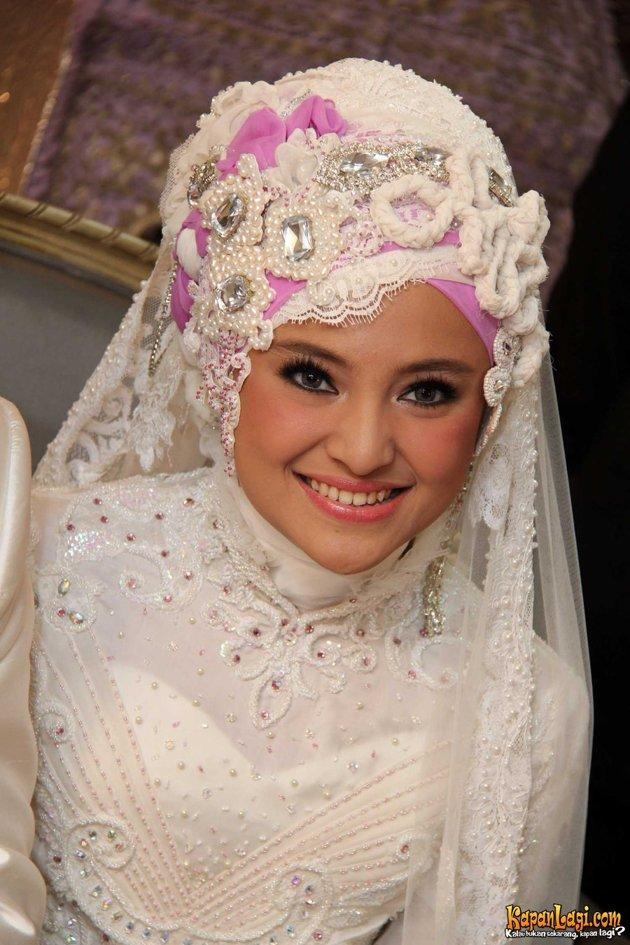 10 Ide Jilbab Pengantin Tutorial Hijab