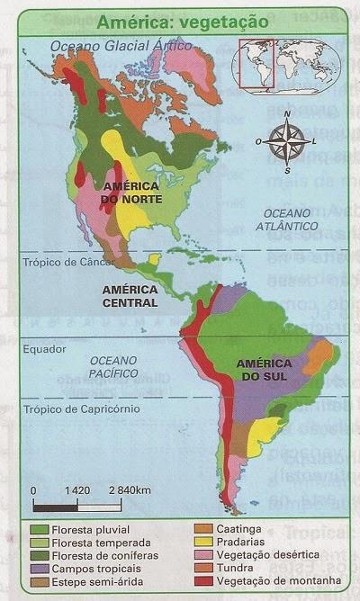 Prova de Geografia - 8º ano