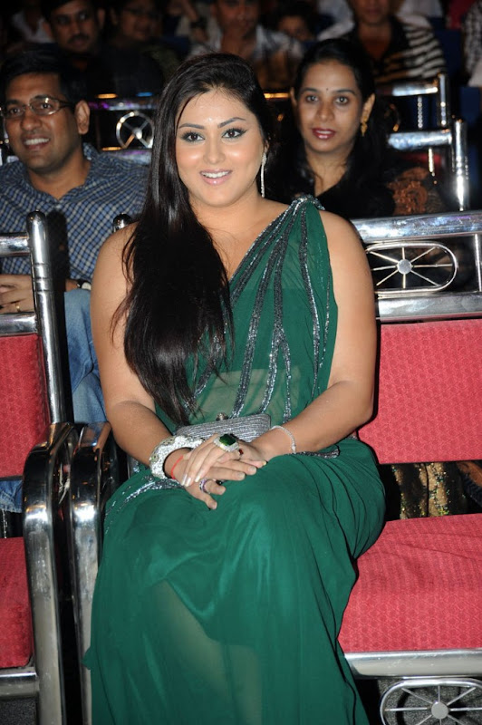 Namitha at Cinemaa Awards  Hot Saree Stills Photogallery gallery pictures