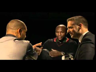 Face off Mayweather vs Cotto