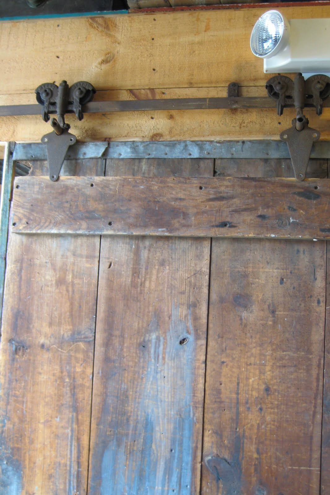 The smith nest vintage finds for Barn door rollers only