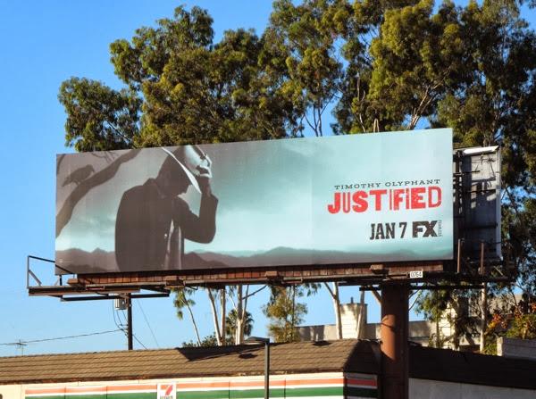 Justified series 5 billboard