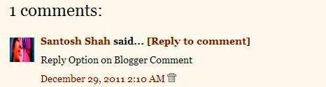 blogger comment reply option