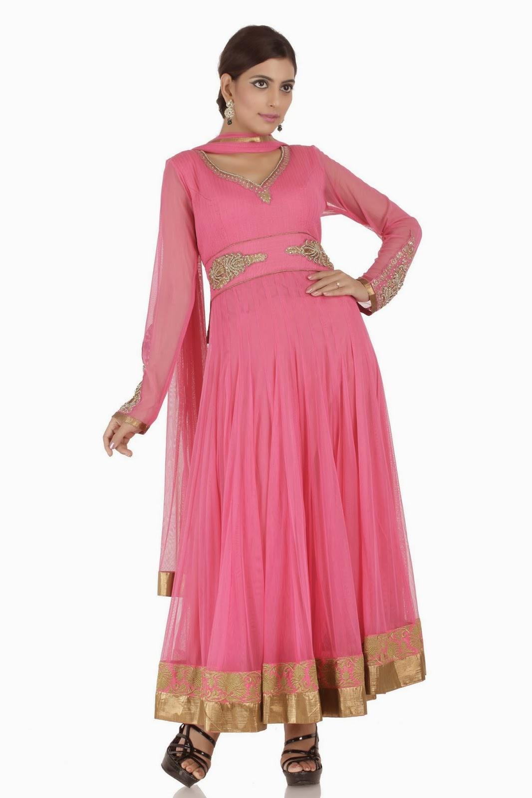 Indian designer anarkali dresses