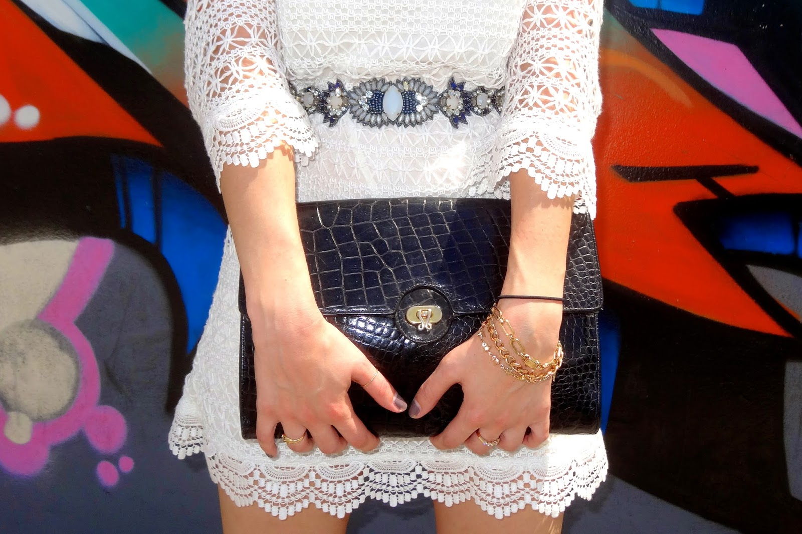 H&M, Ray-Ban, Anthropologie, BCBG Paris, DSW, vintage, LWD, little white dress, Miami fashion, Miami fashion blogger, fashion blog, style blog, street style, Summer Fashion Bash, Wynwood, Miami