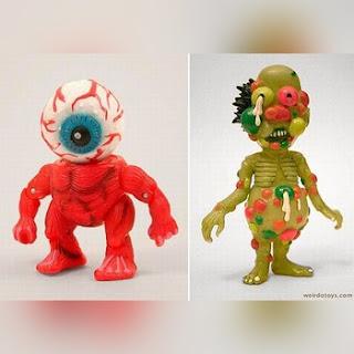 Muñecos monstruosos