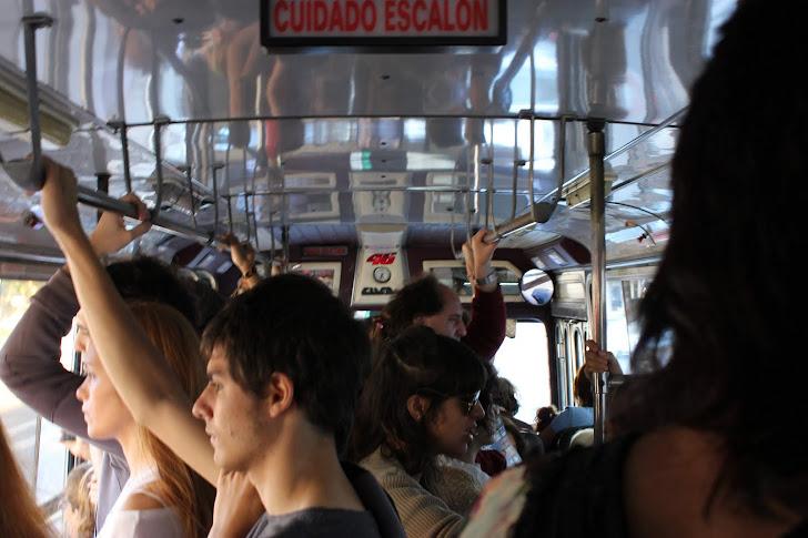 En vanlig busstur...