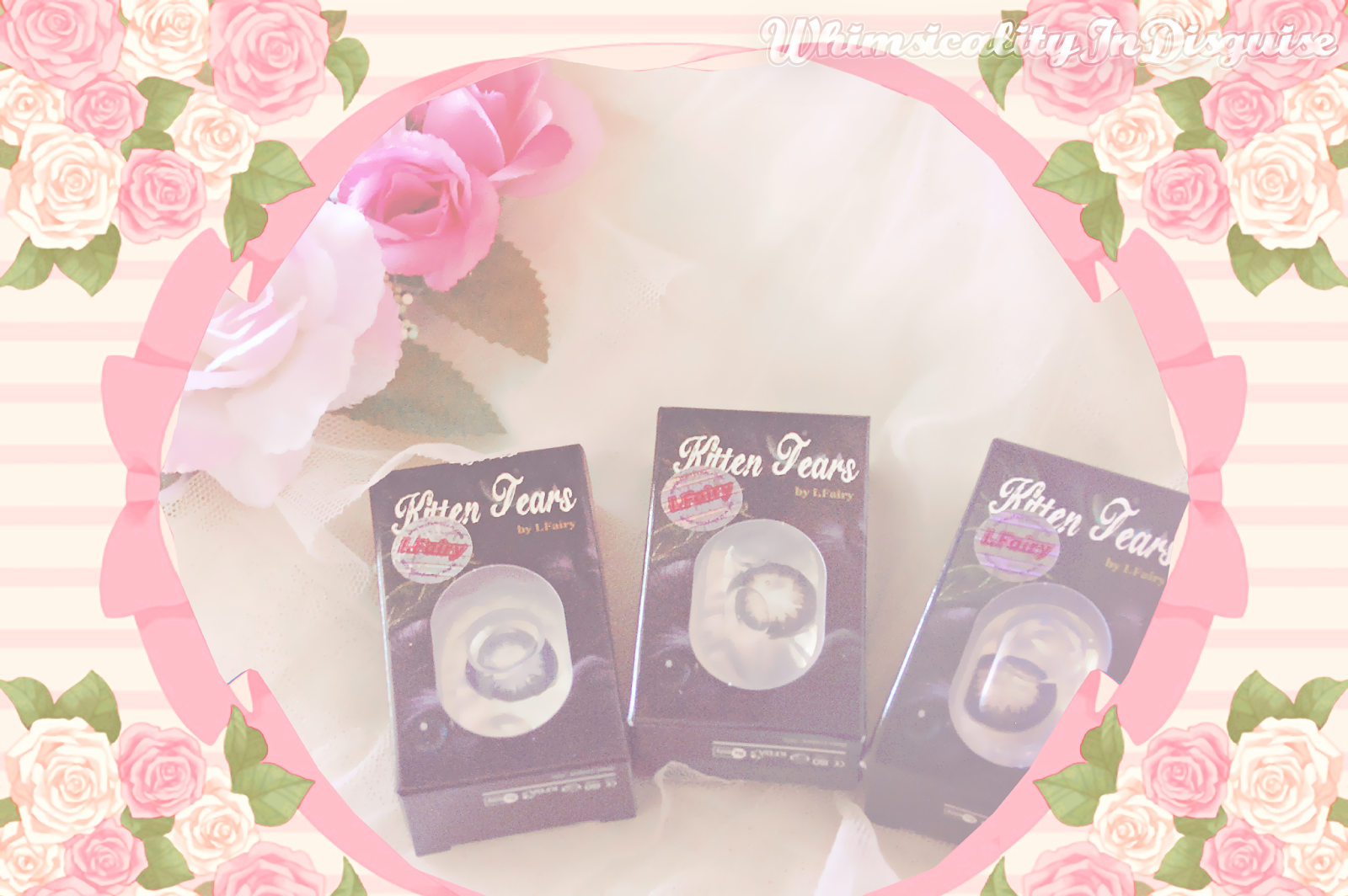 I.Fairy Kitten Tears circle lens