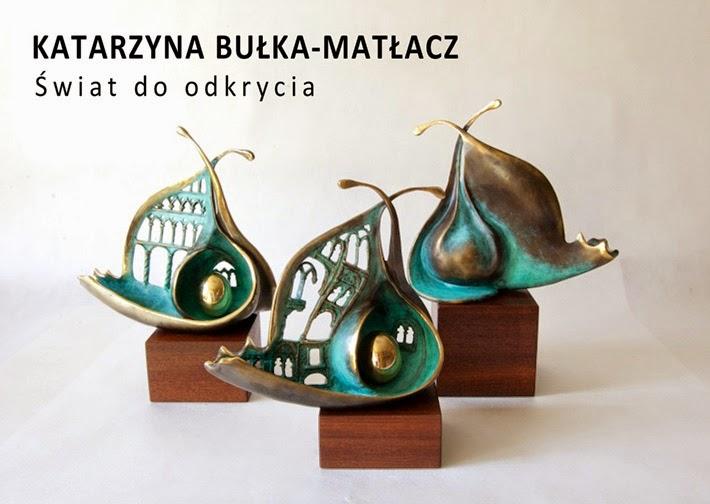 """""""Świat do odkrycia"""" - wernisaż rzeźby Katarzyny Bułka-Matłacz. 2014"""
