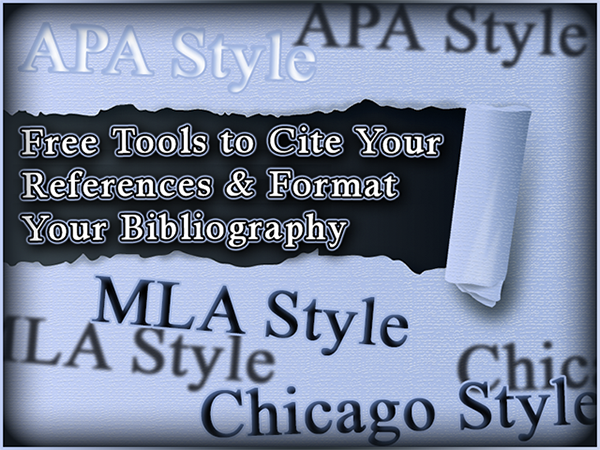 Free Online Tools to Format Your Paper in APA Style, MLA Style, and Chicago Manual of Style