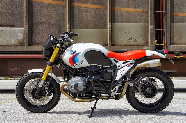 Bmw r nine t paris dakar 99garage cafe racers customs for Garage yamaha paris