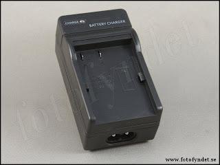 Batteriladdare 12V och 230V, för digitalkamerabatteri