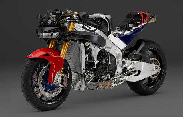 """Honda RC213V-S versi jalan raya ini resmi dirilis . . motor """"kloningan"""" dari MotoGP yang berharga miliaran rupiah !"""