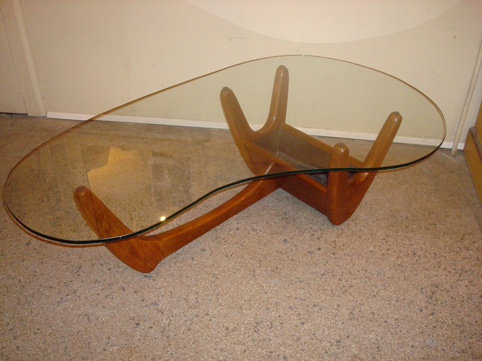 Era Antiques Mid Century Modern Biomorphic Cocktail Table
