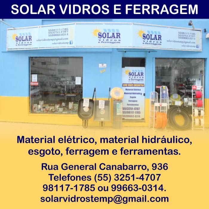 Solar Vidros e Ferragens