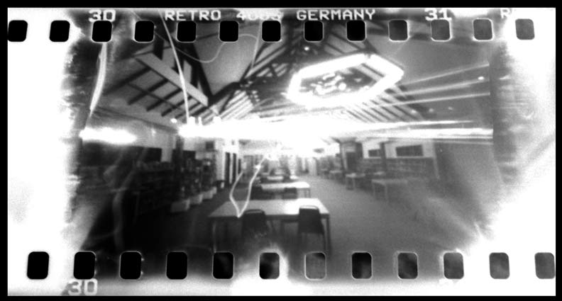 These Images Were Taken On Film Using A Matchbox Pinhole Camera Here And