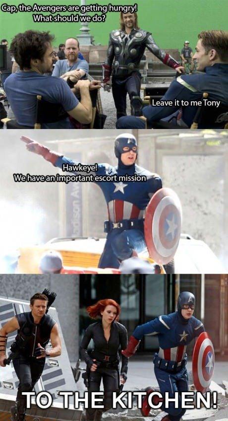 Funny Halloween bit from Hawkeye vs Deadpool : Marvel