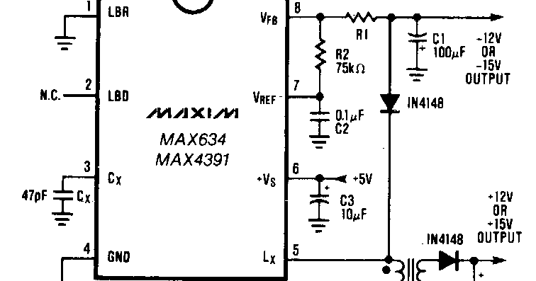 various diagram dual output dc dc converter wiring diagram schematic
