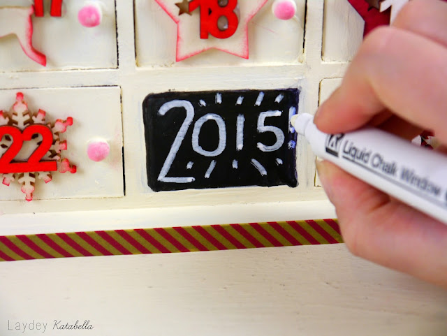 DIY Hobbycraft advent calendar