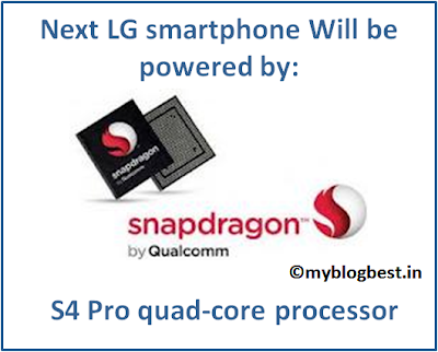 LG, LG smartphone, Qualcomm, quad core processor, quad core processor LG smartphone, next LG mobile phone