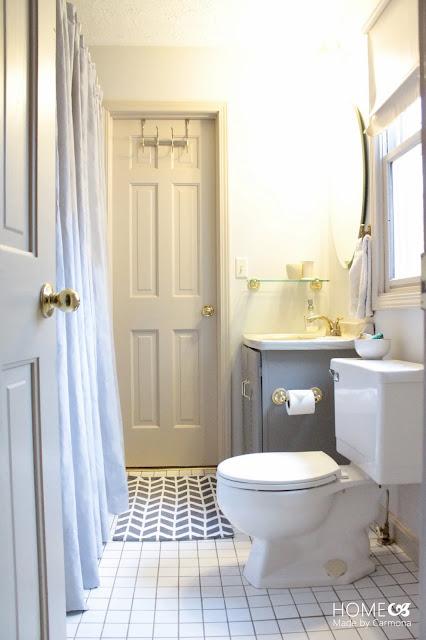 Jack Jill Bathroom Reveal Home Made By Carmona