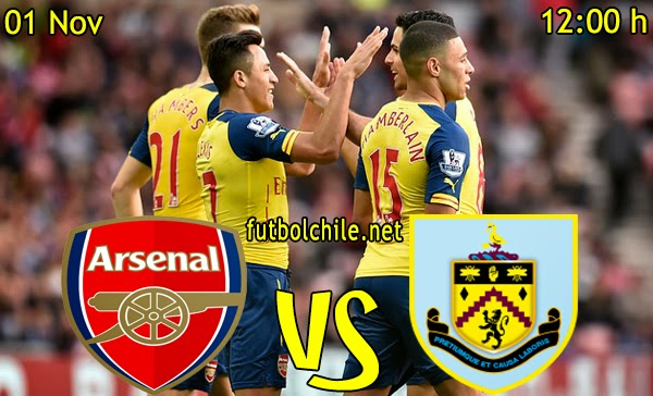 Arsenal vs Burnley - Premiere League - 12:00 h - 01/11/2014