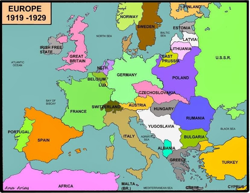 One step at a time february 2014 and map of europe after the war gumiabroncs Choice Image