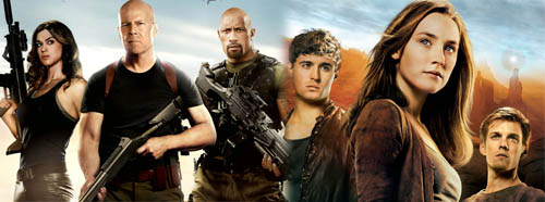 GI Joe Retaliation and The Host