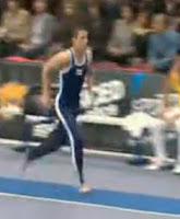 Gymnastic video clip