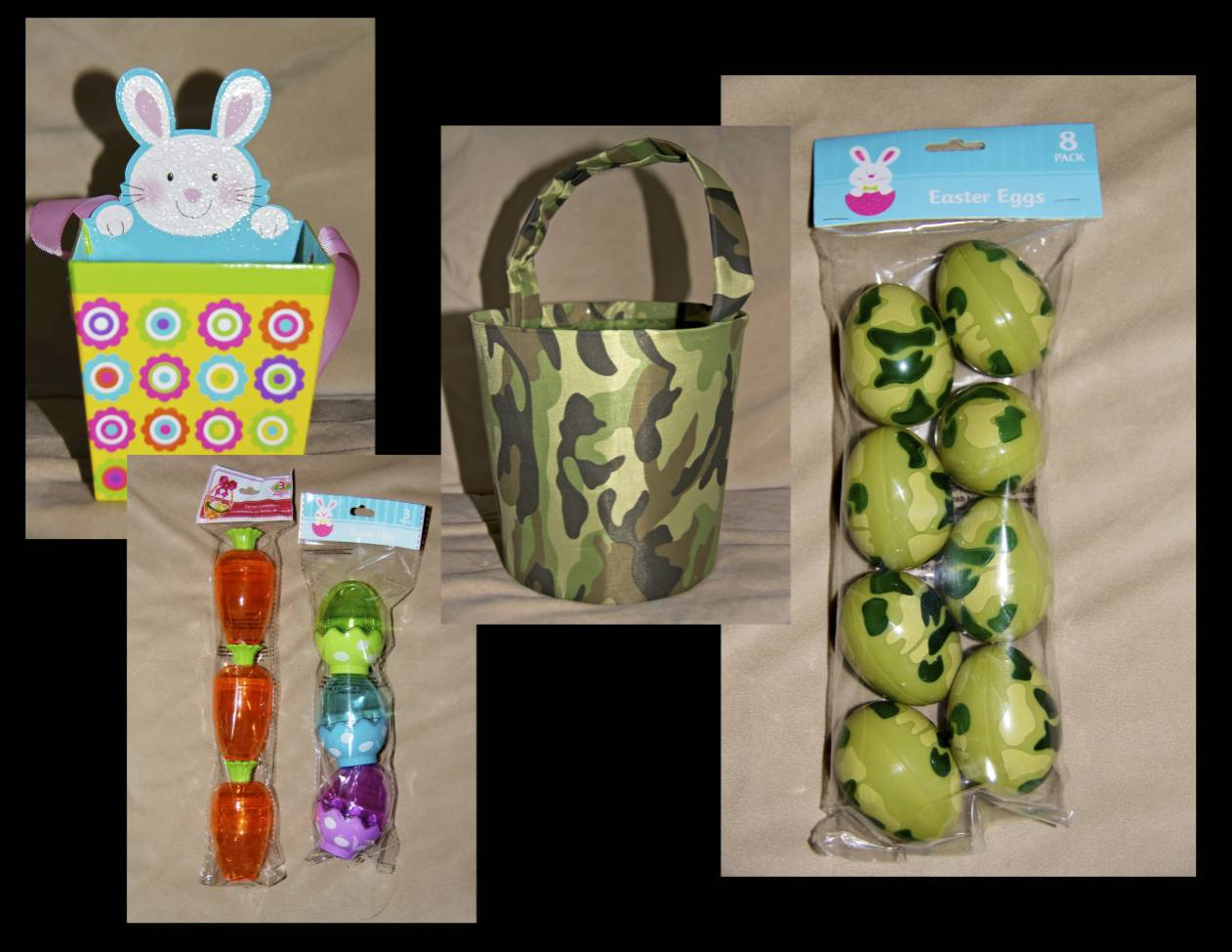 Our army life according to the wife themed care packages easter easter to your soldier dont let the box format get in your way use easter grass soft baskets and fun bags to really give it the traditional feel negle Images