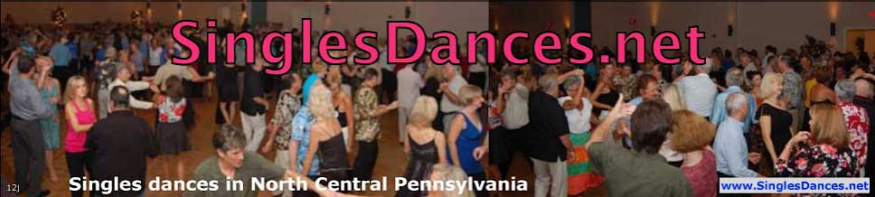 Singles Dances in North Central Pennsylvania | SinglesDances.net