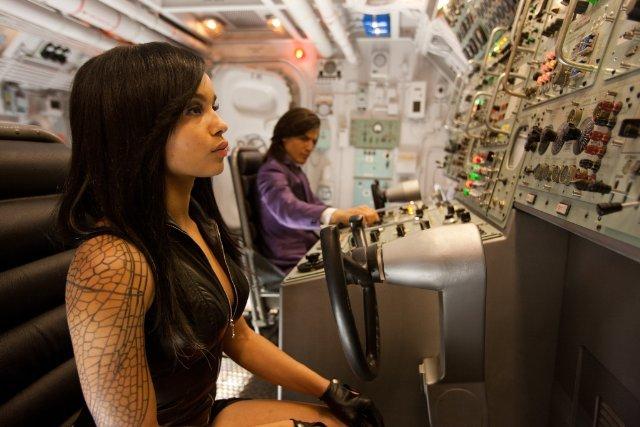 Zoe Kravitz And Jennifer Lawrence In Xmen X-Men: First Cl...