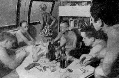 Жак-Ив Кусто в подводном доме Диоген