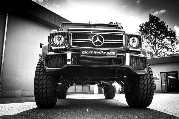 Mercedes Benz G 63 AMG mcchip-dkr