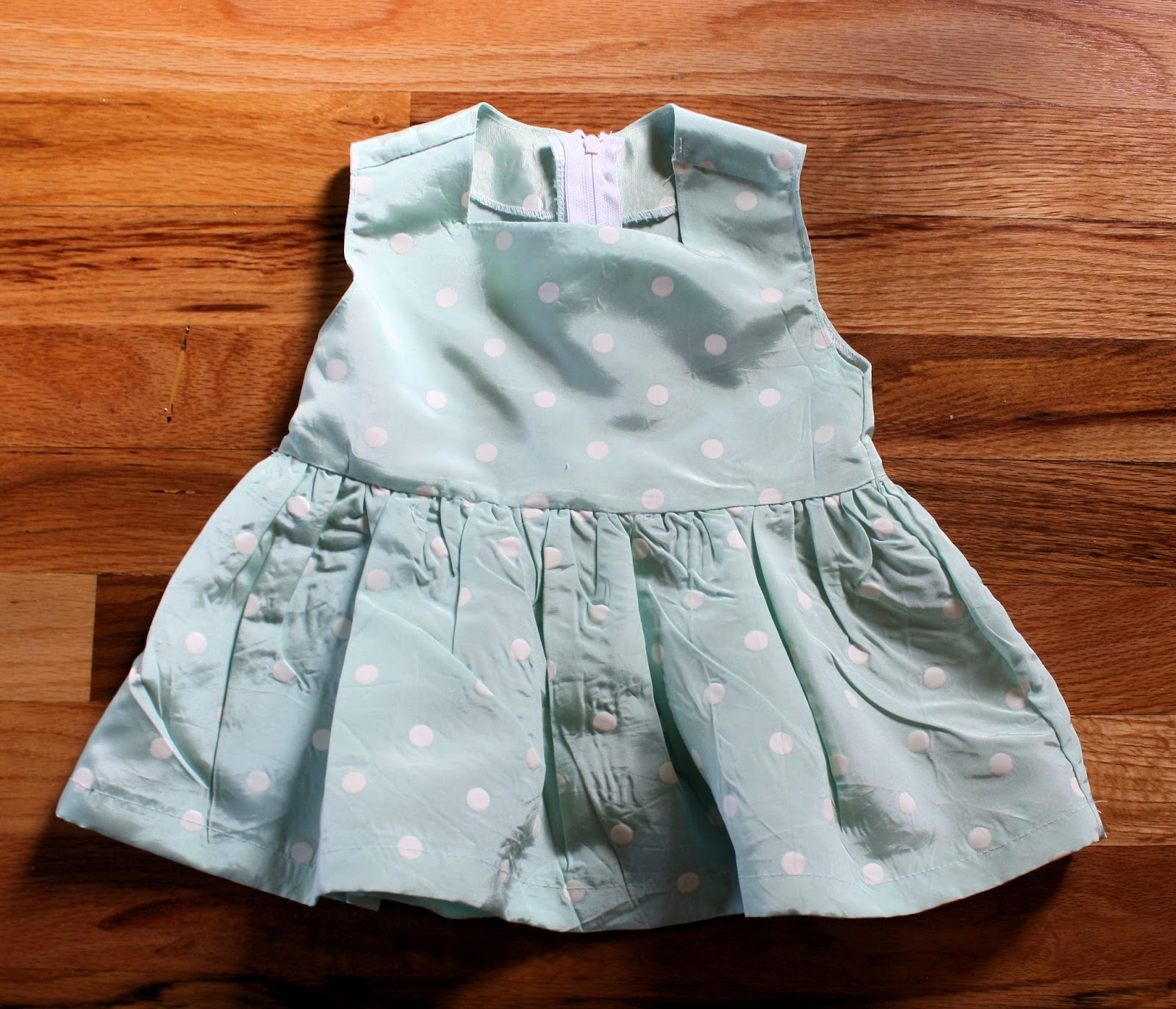 Running With Scissors Birthday Dress for a Baby Girl