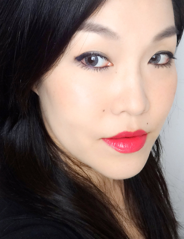 Revlon Ultra HD lipstick Hydrangea FOTD