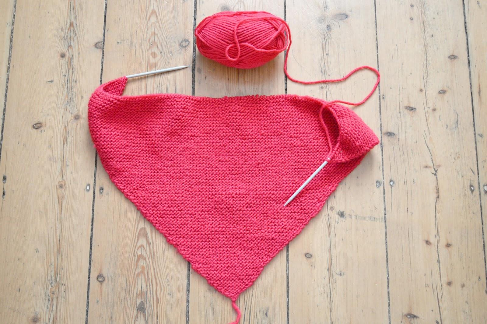 comment faire un châle au tricot